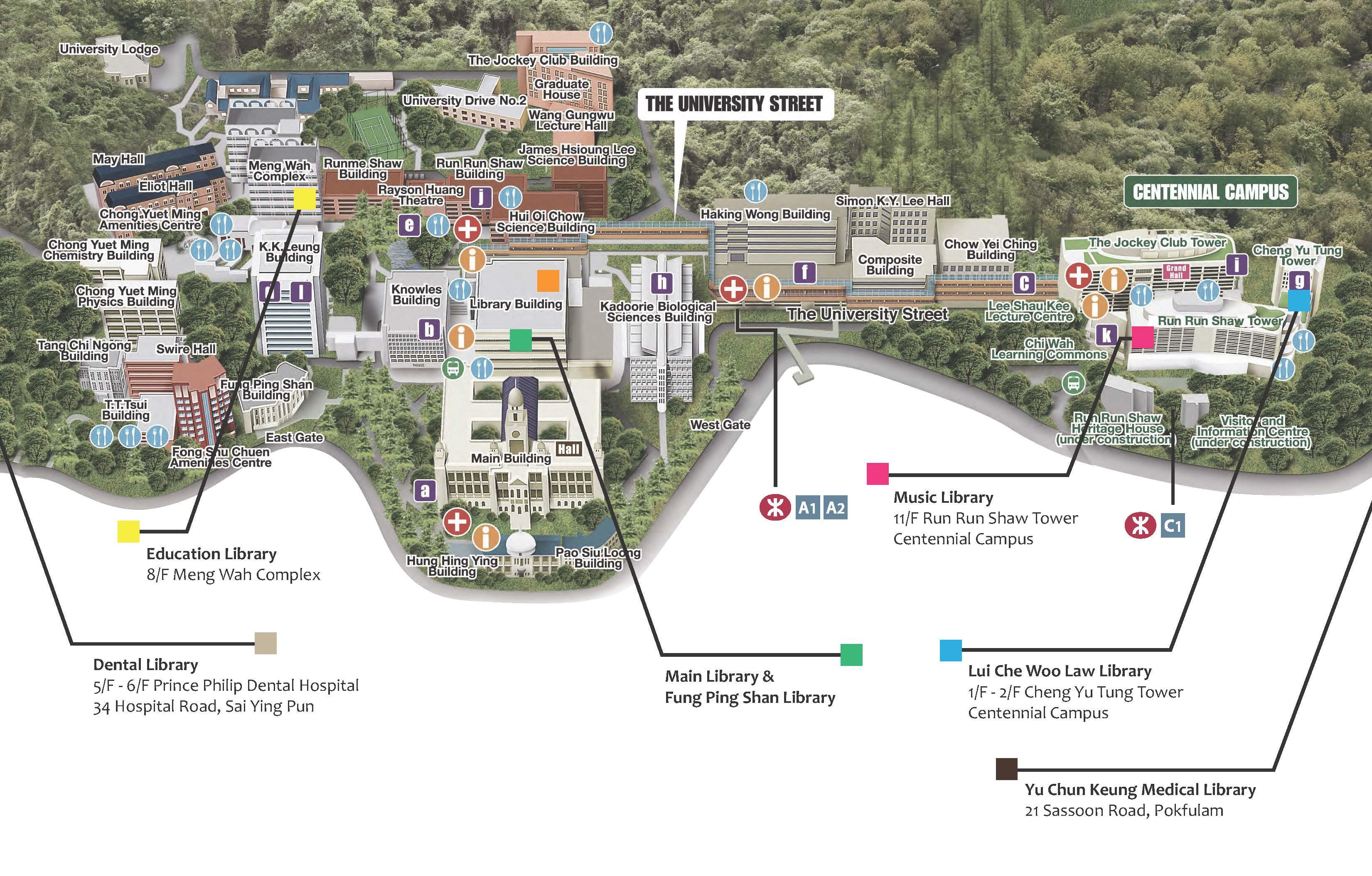 Building Ground Floor Plan Hkul Map